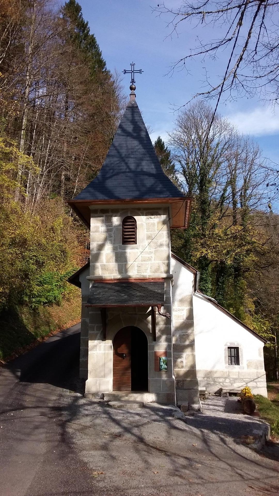 Chapelle du Bief d'Etoz
